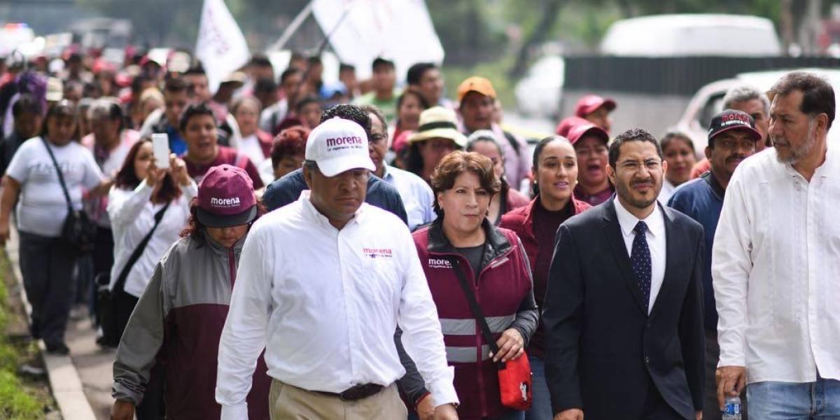 'Marcha de la Esperanza' de Delfina llega a San Lázaro