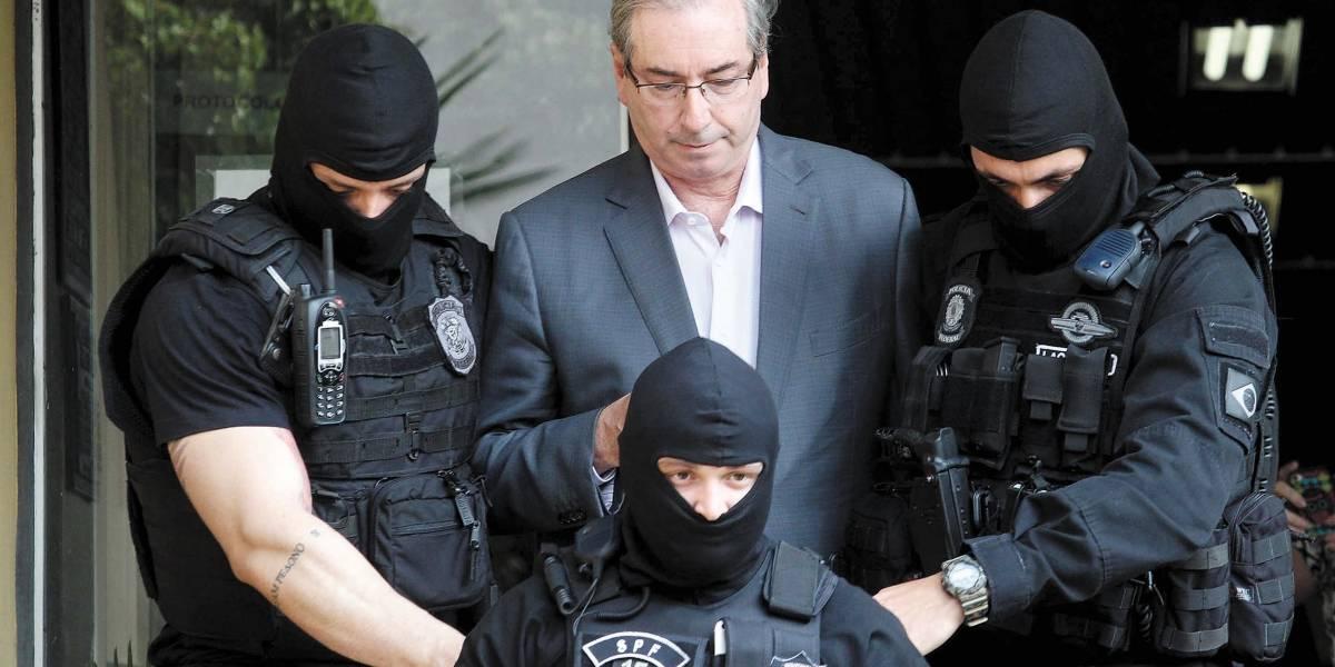 Cunha: compra de silêncio foi 'forjada' para tirar Temer