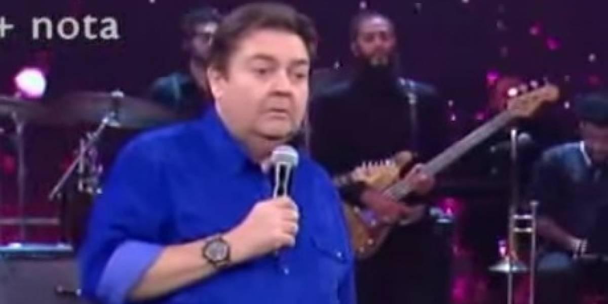 'Há 30 anos que a gente canta e não tem esse novo dia', desabafa Faustão