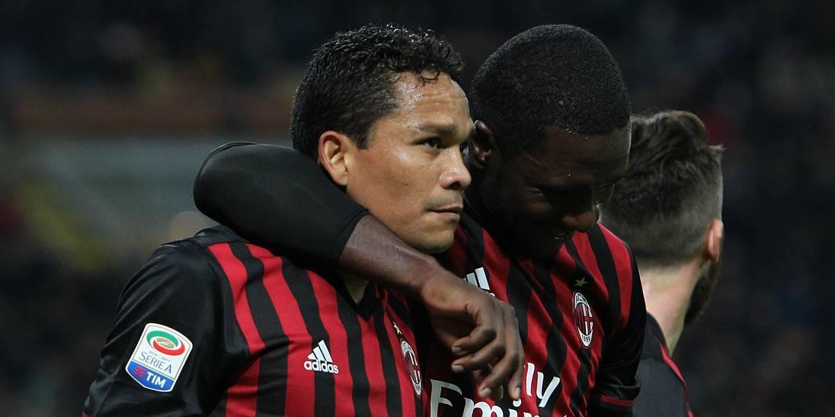 El Milan dio una muestra de que tiene a Bacca listo para otro club