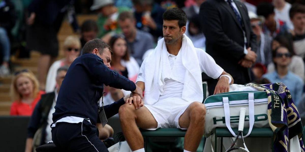 Djokovic está virtualmente descartado para el US Open y podría volver a jugar recién en 2018