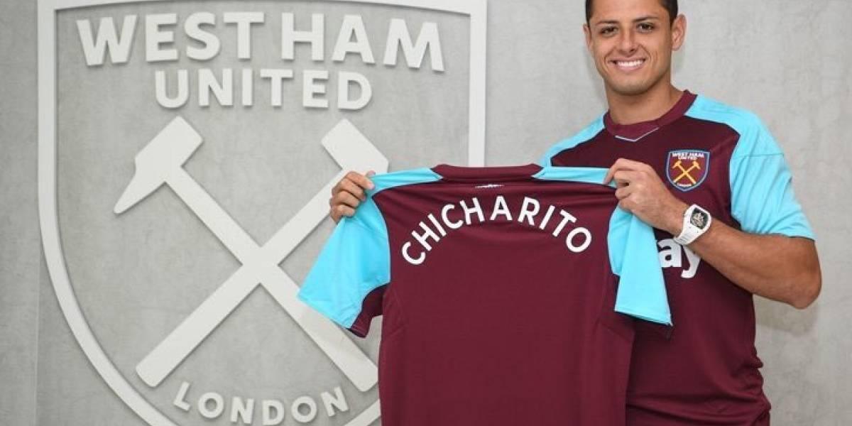 """""""Chicharito"""" Hernández es presentado con el West Ham"""