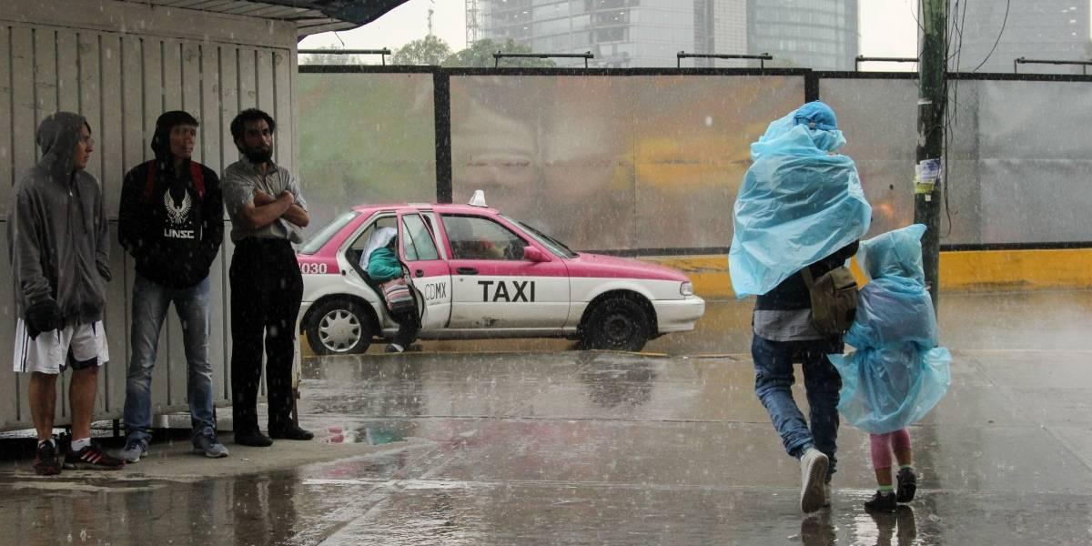 Este lunes continuarán lluvias de diferente intensidad en la mayor parte de México