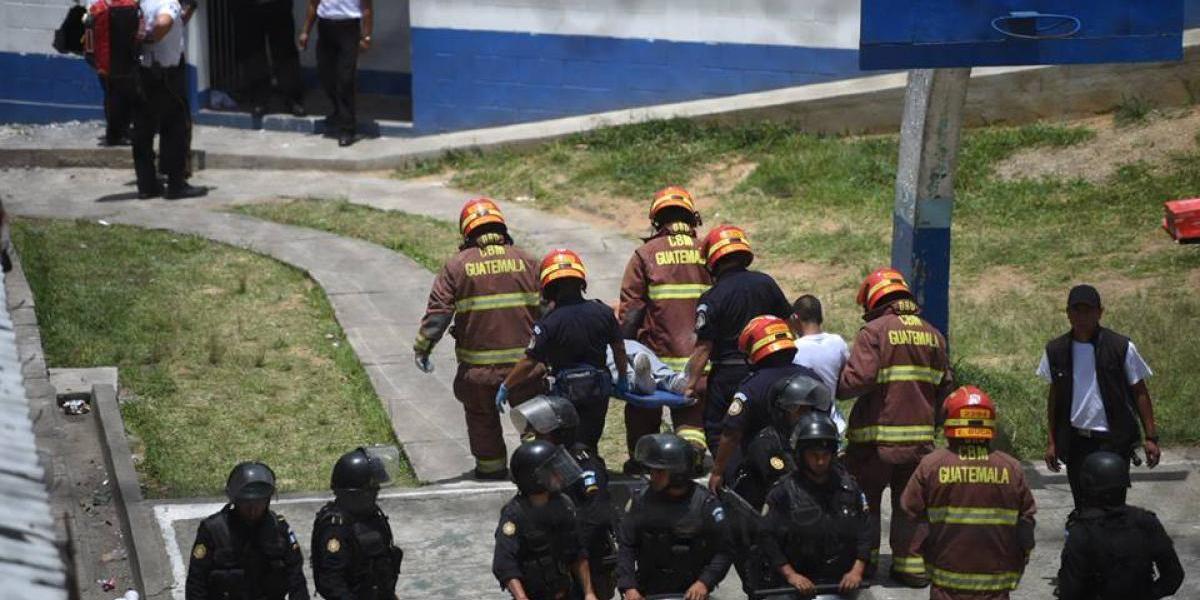 Varios internos heridos por motín en centro correccional Las Gaviotas