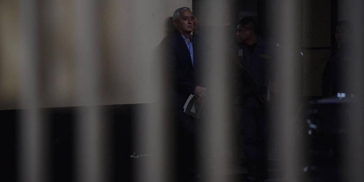 Comienza la audiencia del caso La Línea y Otto Pérez pide su libertad