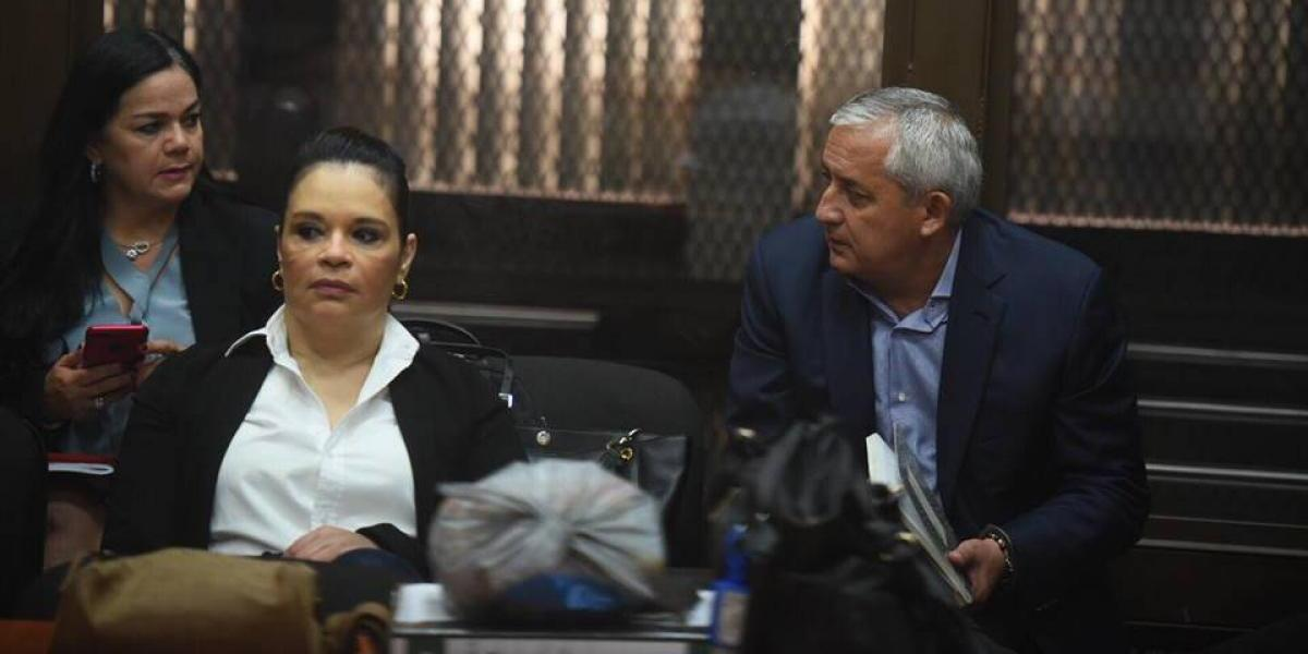 Caso La Línea: Baldetti y Pérez Molina en tribunales para audiencia intermedia