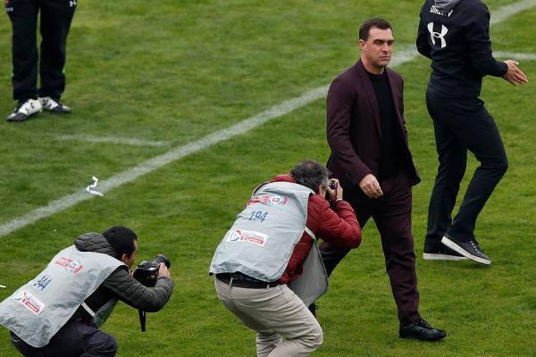 Pablo Guede sumó su segundo título al mando de Colo Colo / Photosport