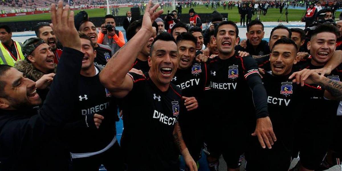 El mesurado festejo en el camarín de Colo Colo tras ganar la Supercopa