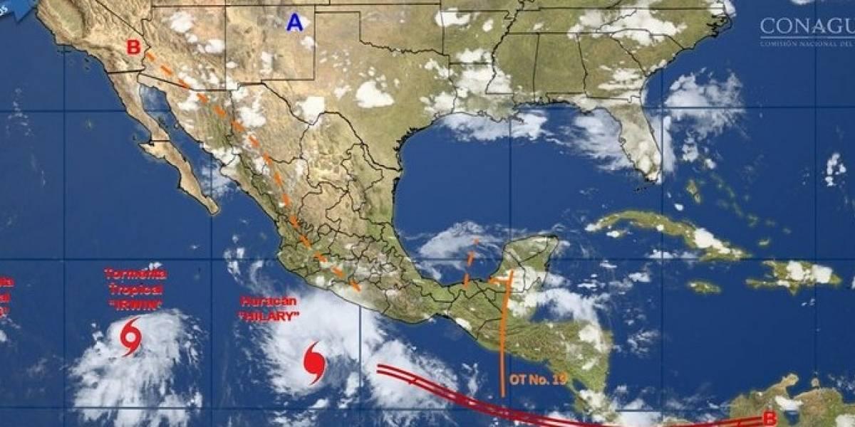 Huracán 'Hilary' se forma frente a las costas del Pacífico