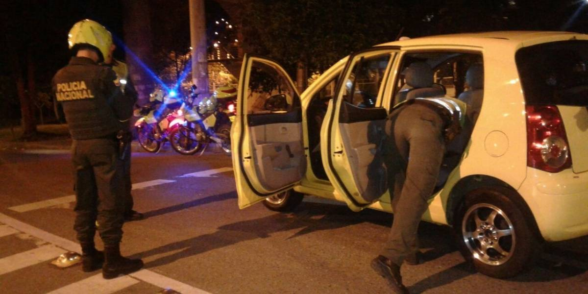 Pasajero asesinó a taxista en Cali y no fue por robarlo
