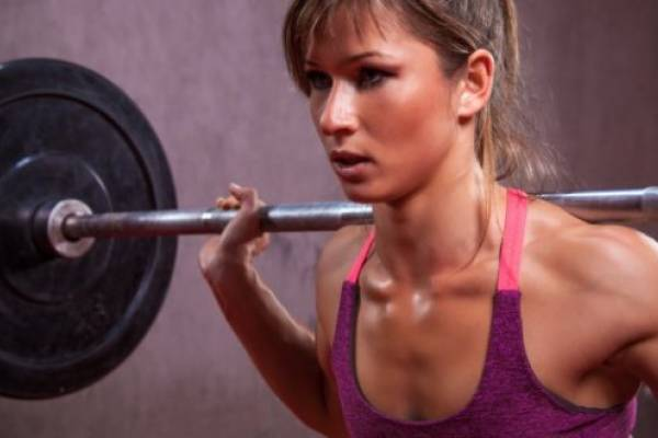 Bajar de peso con pesas