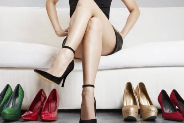 erección después de otros zapatos