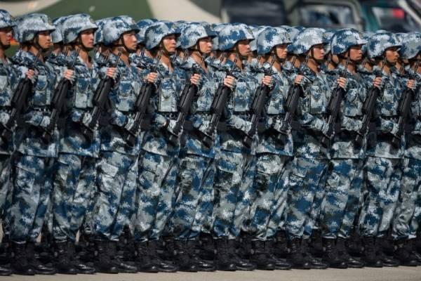 tropas chinas