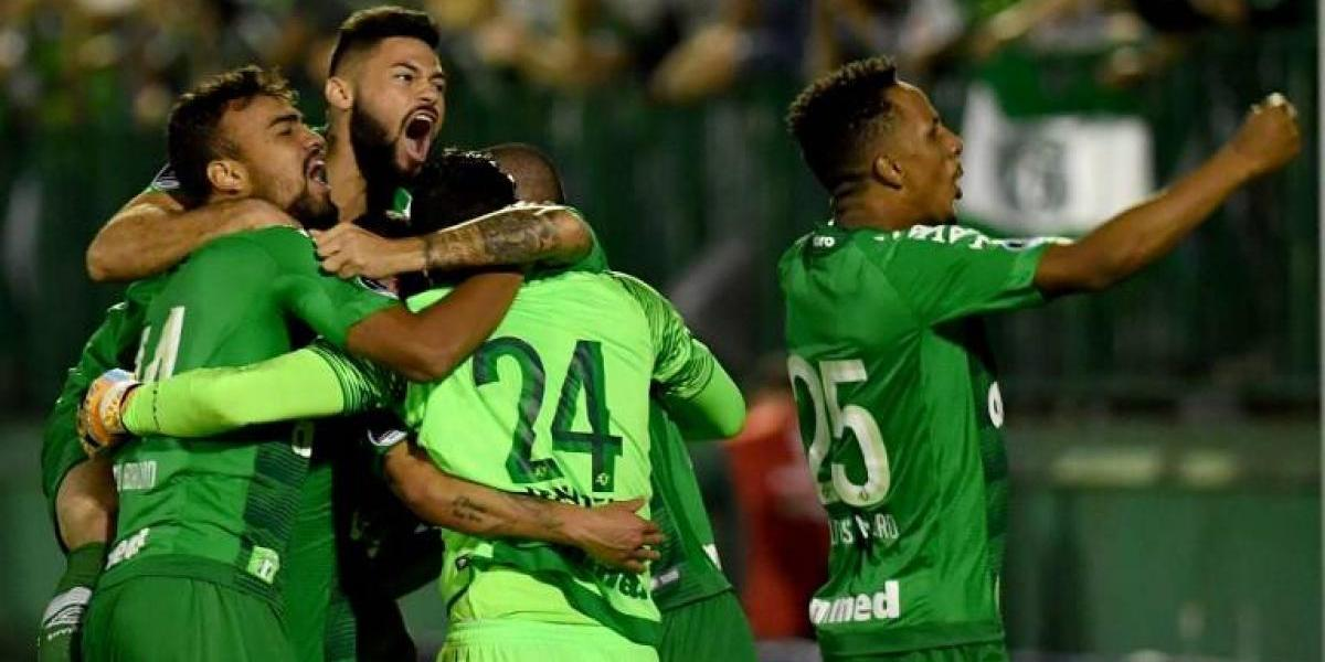 Chapecoense mantiene vigente su sueño de bicampeonato en la Sudamericana