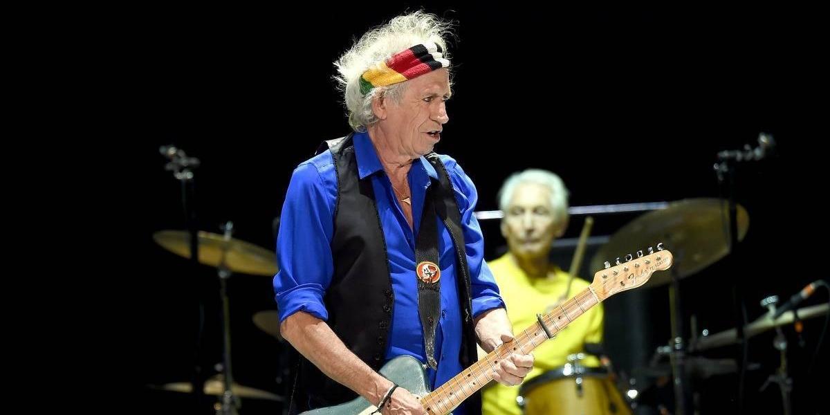 Keith Richards anuncia un nuevo trabajo de los Rolling Stones
