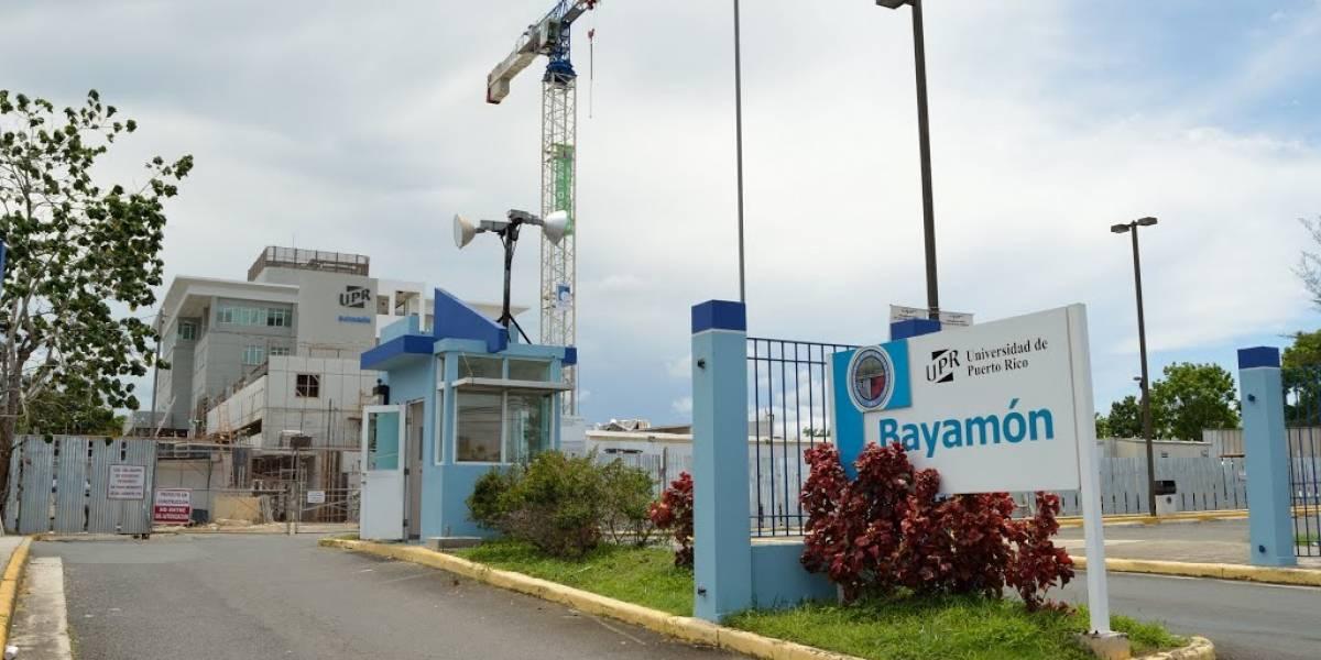 Estudiantes de UPR Bayamón regresan a clases mañana