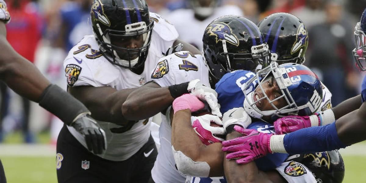 Estudio revela enfermedades cerebrales en jugadores de la NFL
