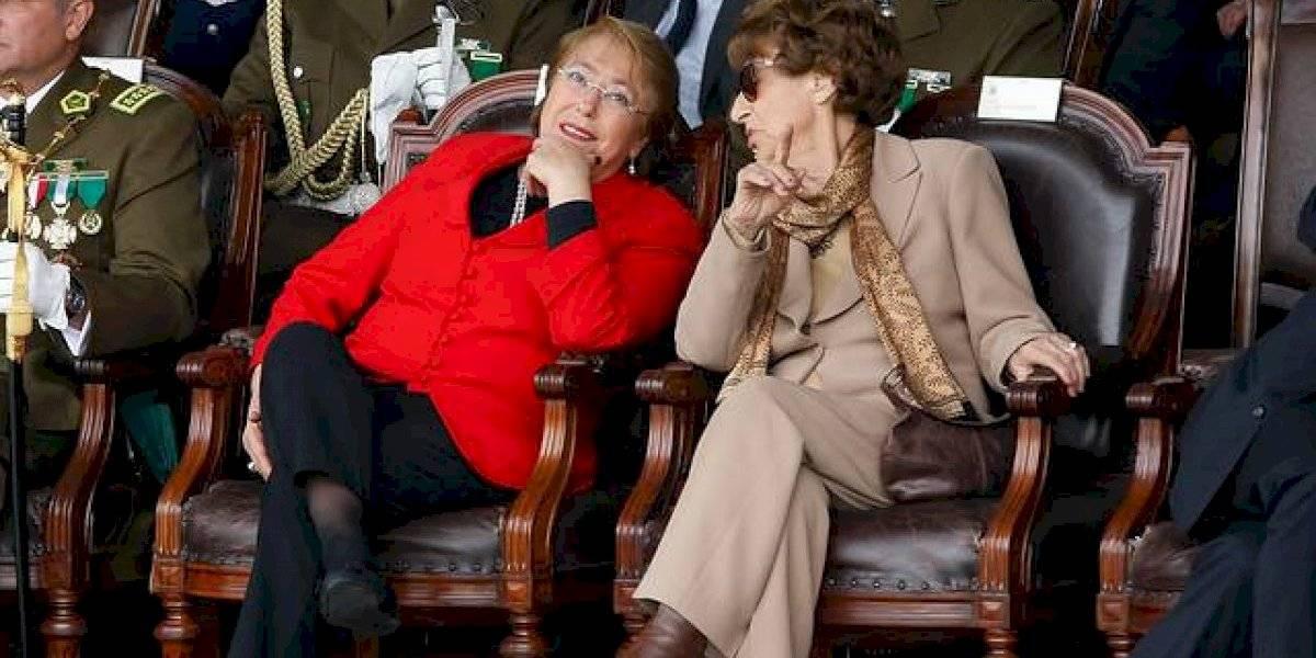 A los 93 años muere Ángela Jeria, mamá de Michelle Bachelet