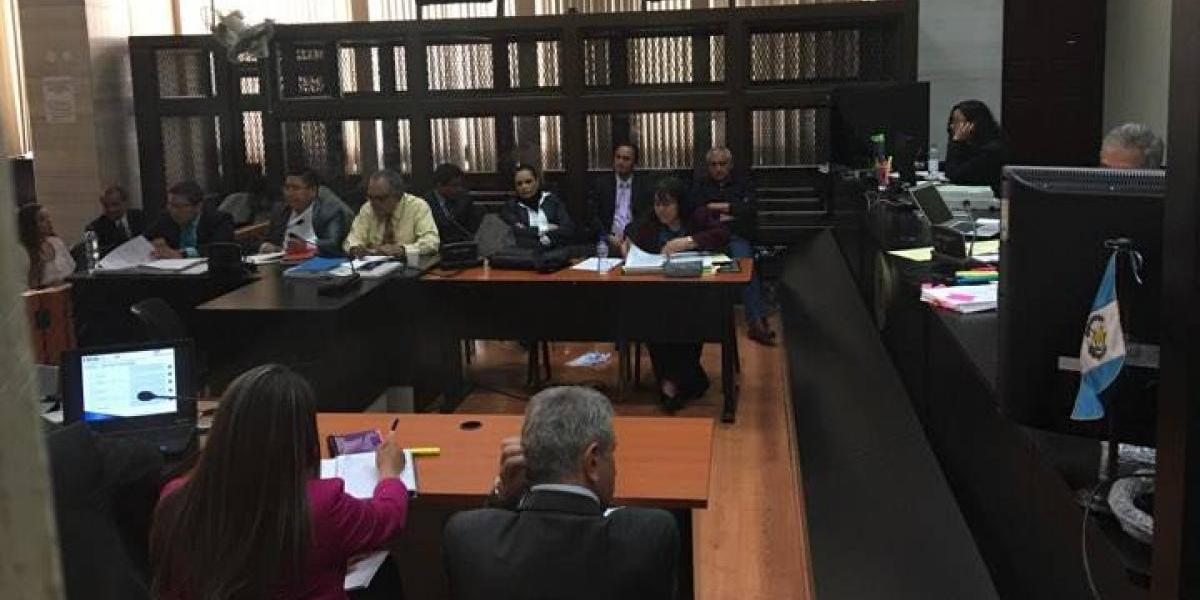 Continúa audiencia del caso La Línea; Pérez Molina y Baldetti de nuevo en tribunales