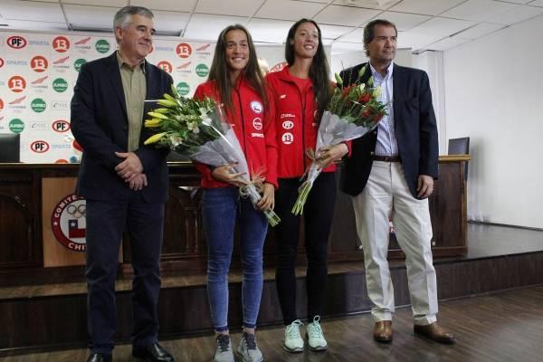 Campeonas mundiales Sub23 de Remo realizaron conferencia de prensa