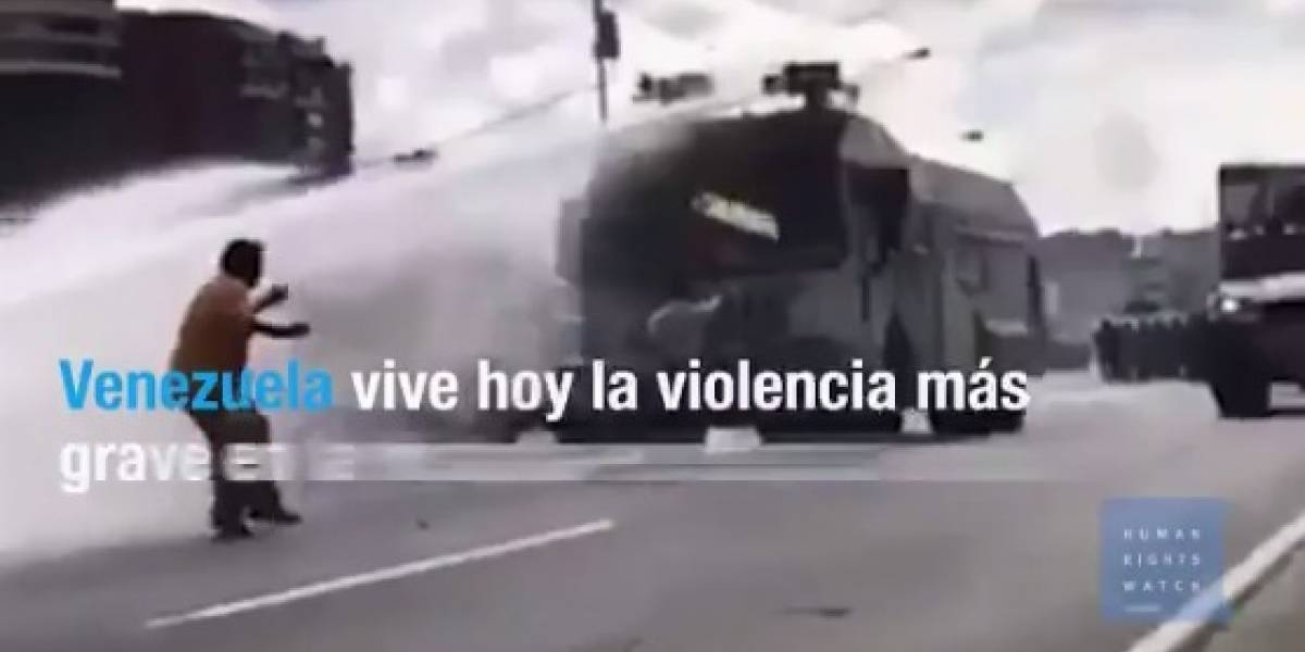 El video que evidencia la más brutal represión en Venezuela