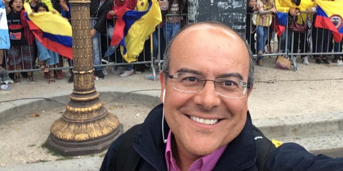 ¡Calamidad! Para Ricardo Orrego, el Tour por Europa todavía no culmina