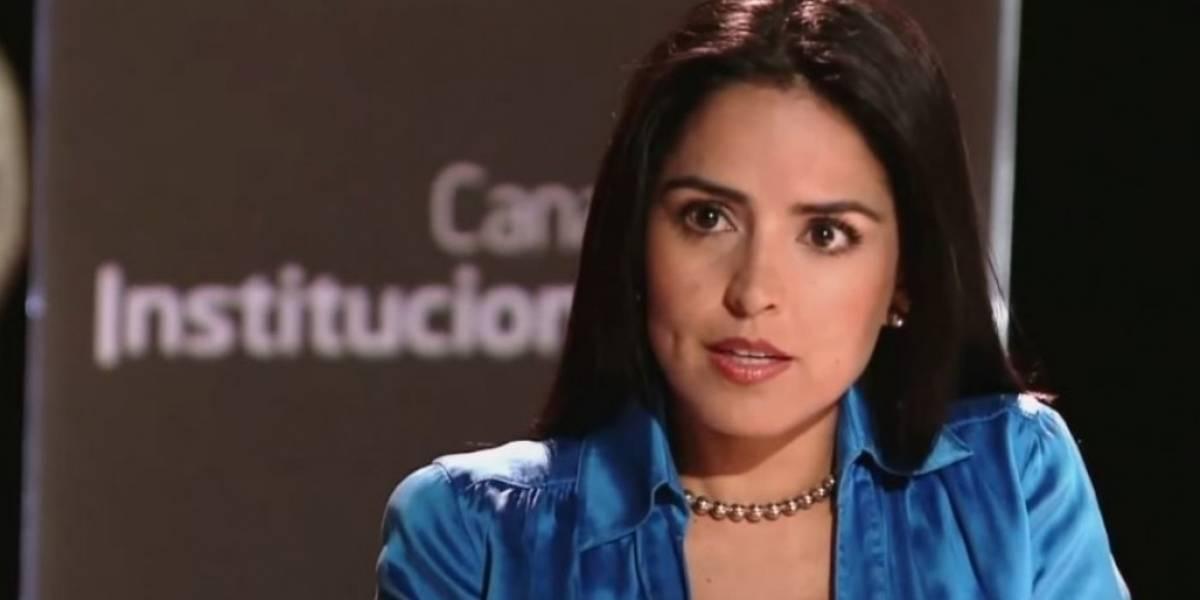 El cambio radical de Claudia Palacios