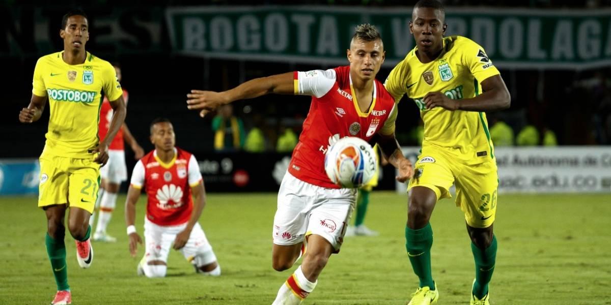 Nacional, Cali y América se juegan el paso en la Copa Águila