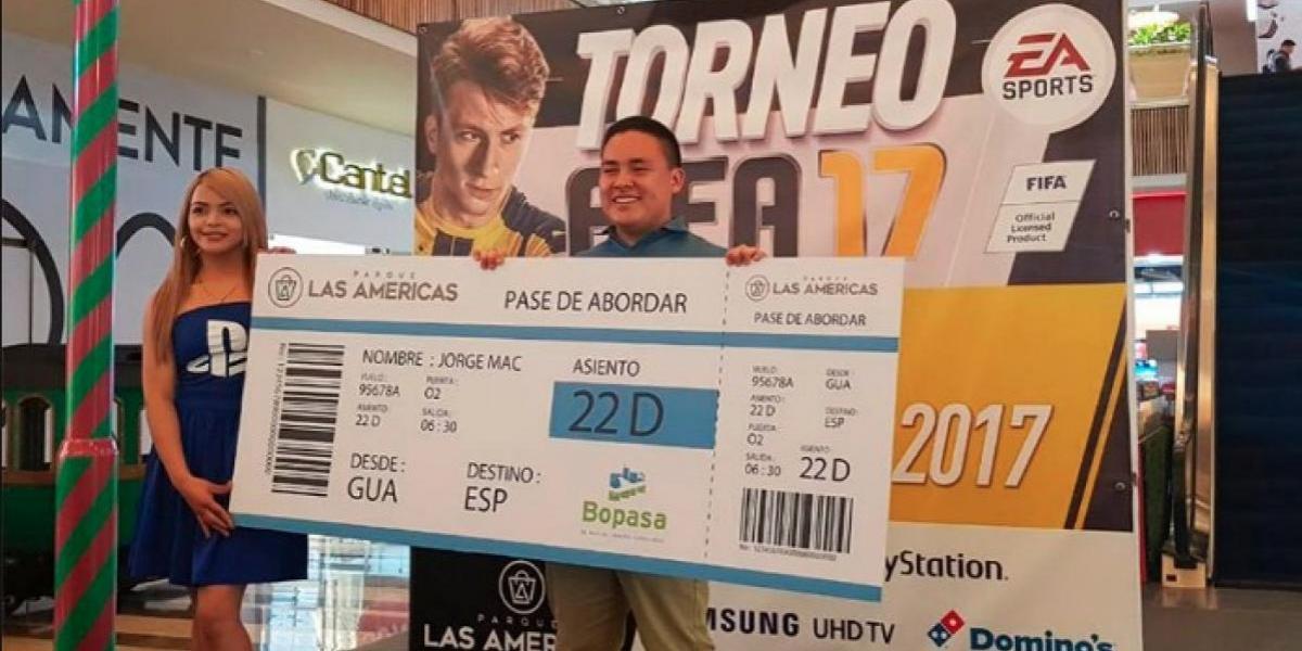 Guatemaltecos demostraron sus habilidades y ganaron el Torneo FIFA de Parque Las Américas