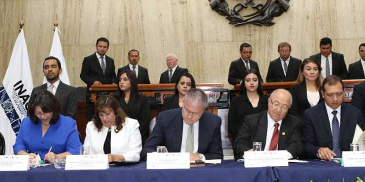 Se firma convenio para inaugurar Centros Integrados de Justicia