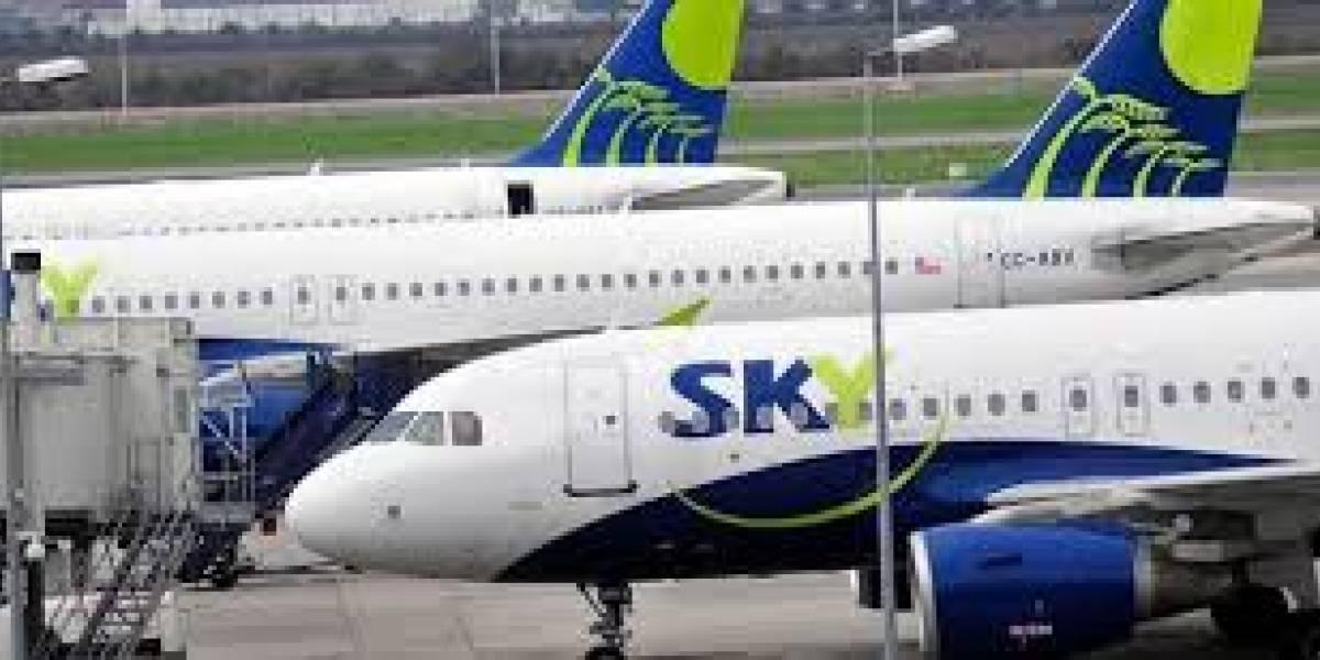 """Alcalde de Concón por aterrizaje preventivo de avión Sky: """"No es primera vez que ocurre"""""""