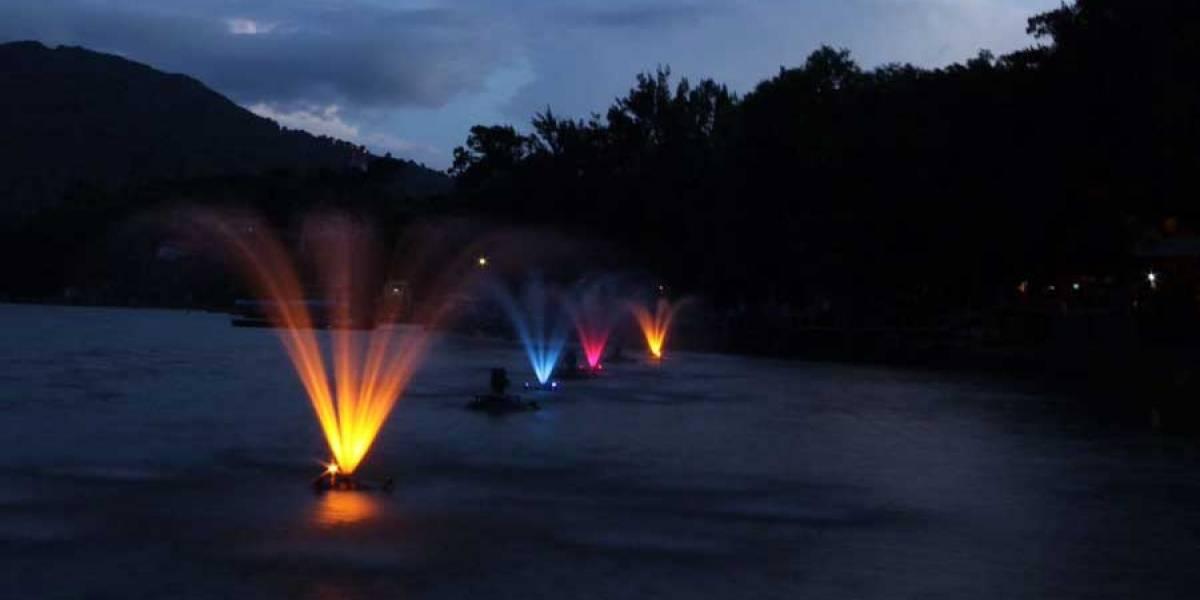 Fuentes decorativas que ayudarán al Lago de Amatitlán