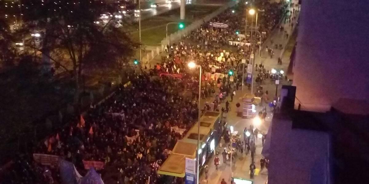 Marchas a favor del aborto libre congregaron a miles de personas en todo Chile