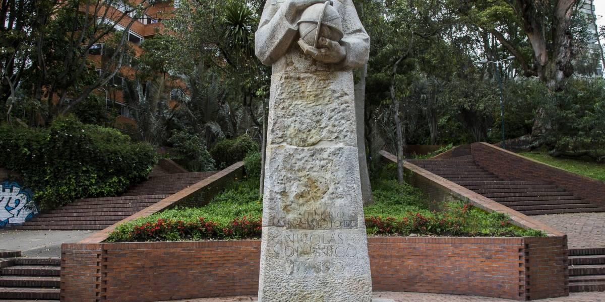 El monumento de Nicolás Copérnico fue recuperado