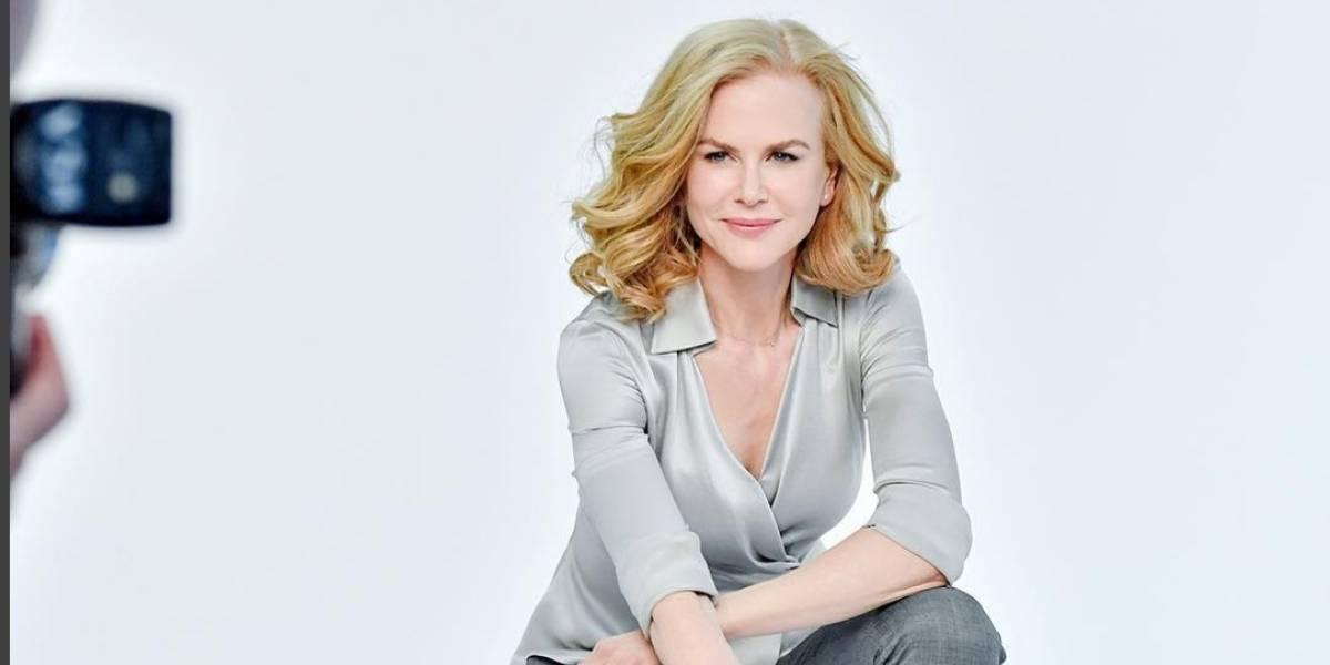 Nicole Kidman posa como una sexy vaquerita