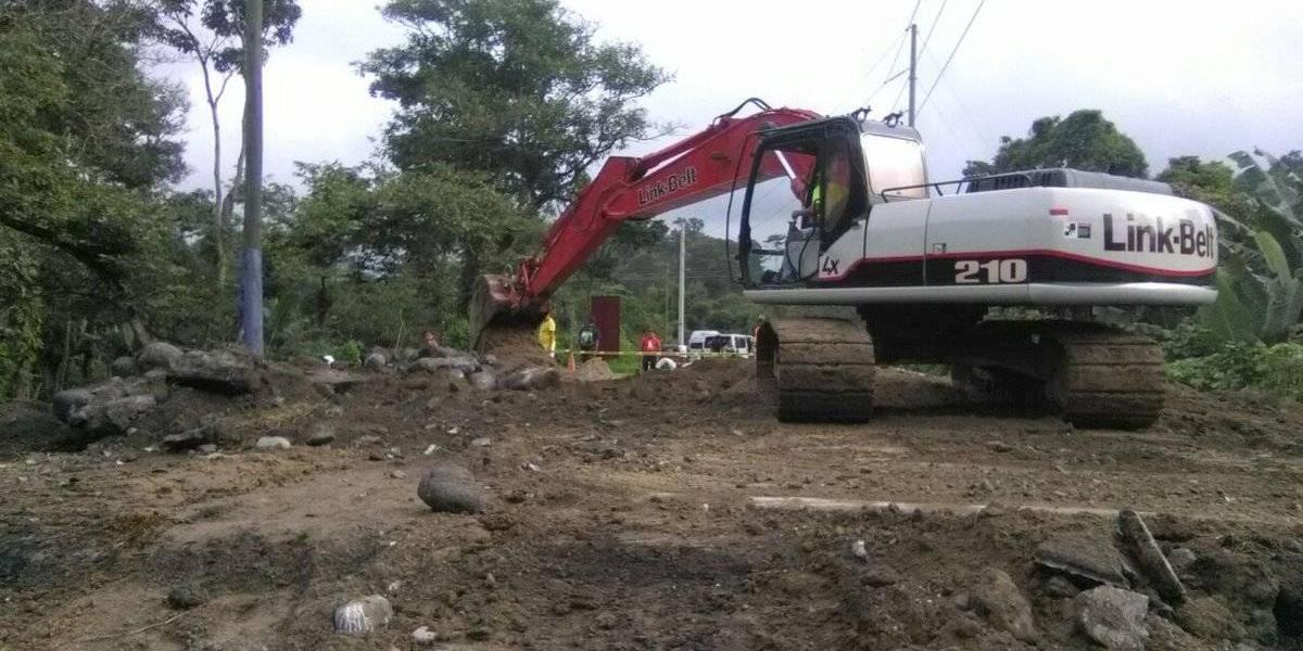 Restablecerán circulación vehicular en un carril de ruta entre Quetzaltenango y Retalhuleu