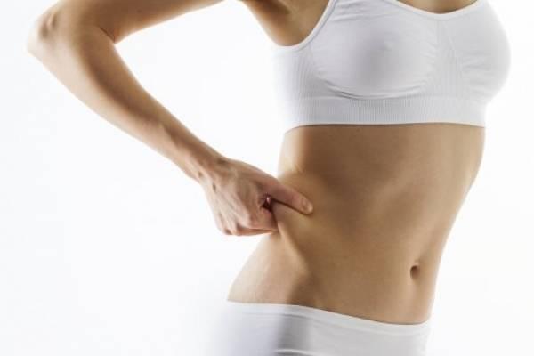 grasa en la espalda baja