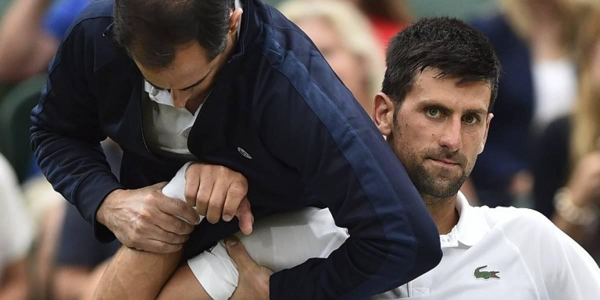 Novak Djokovic anuncia que le pone fin a la temporada para recuperarse de una lesión al codo