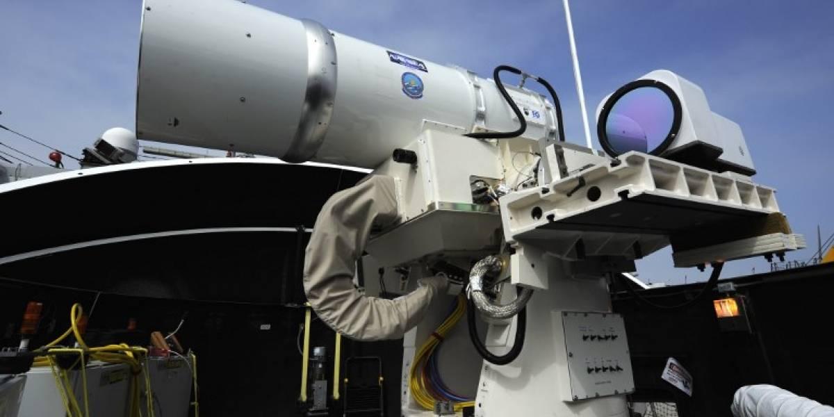 El nuevo juguete del Ejército de EEUU: Un cañón láser que dispara hasta 10 proyectiles por minuto
