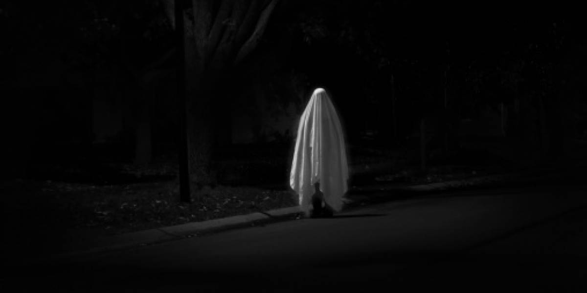 Hombre logró captar al fantasma que lo perseguía