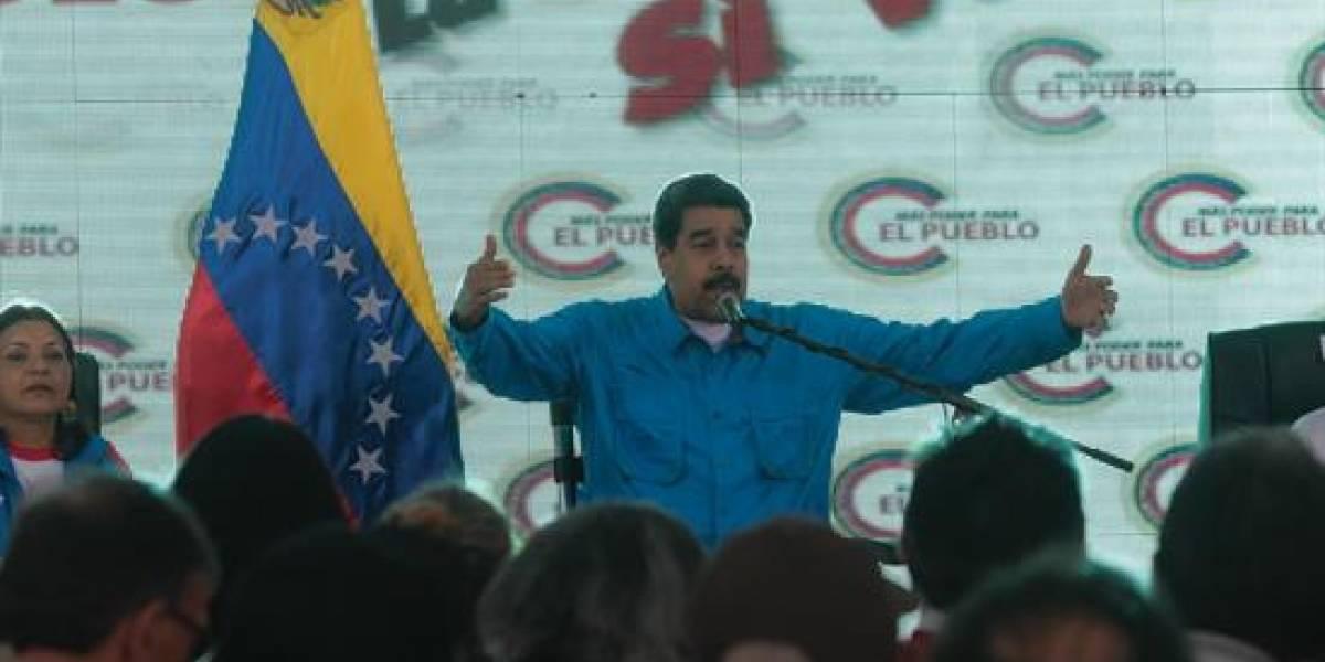 El insólito momento vivido por Nicolás Maduro en votaciones de Venezuela