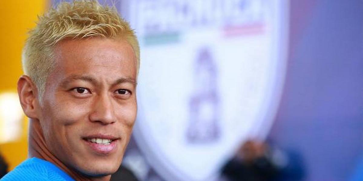 Revelan las exigencias de Keisuke Honda para llegar a Pachuca