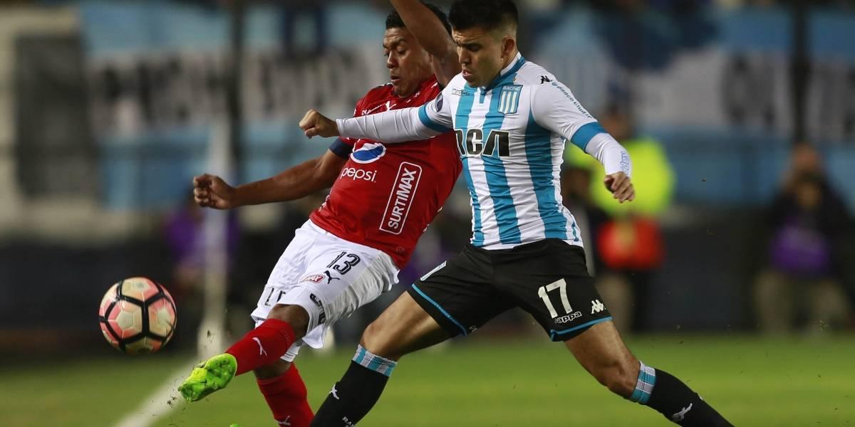 Medellín y Racing disputan un difícil paso a los octavos de la Copa Sudamericana