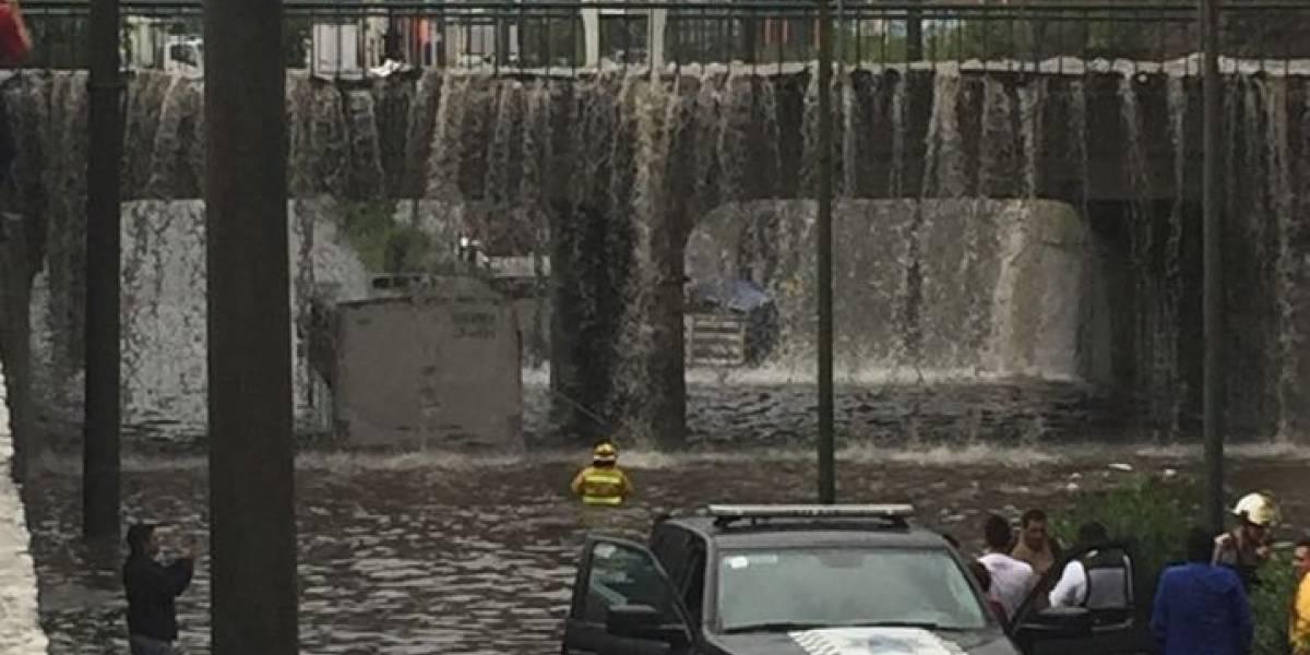 Tormenta pone a la Zona Metropolitana de Guadalajara bajo el agua