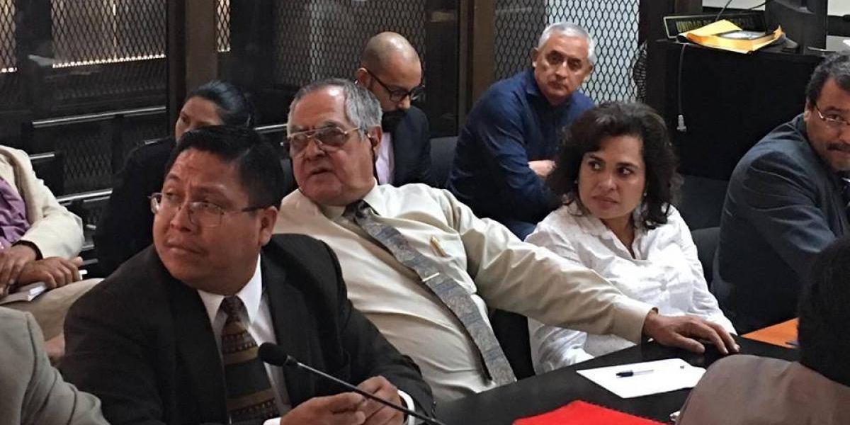 Con Baldetti ausente, se inicia tercer día de audiencia del caso La Línea