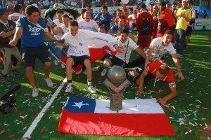 Selección chilena de fútbol calle se corona campeón