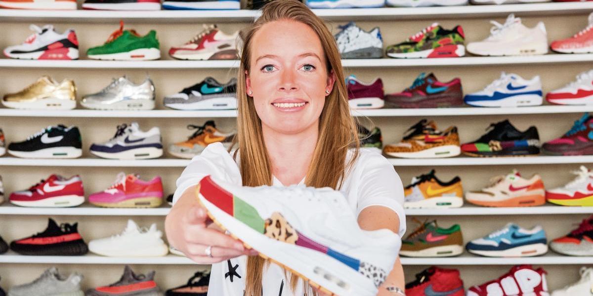 Conoce a Chanica Kist, la coleccionista neerlandesa adicta a las zapatillas