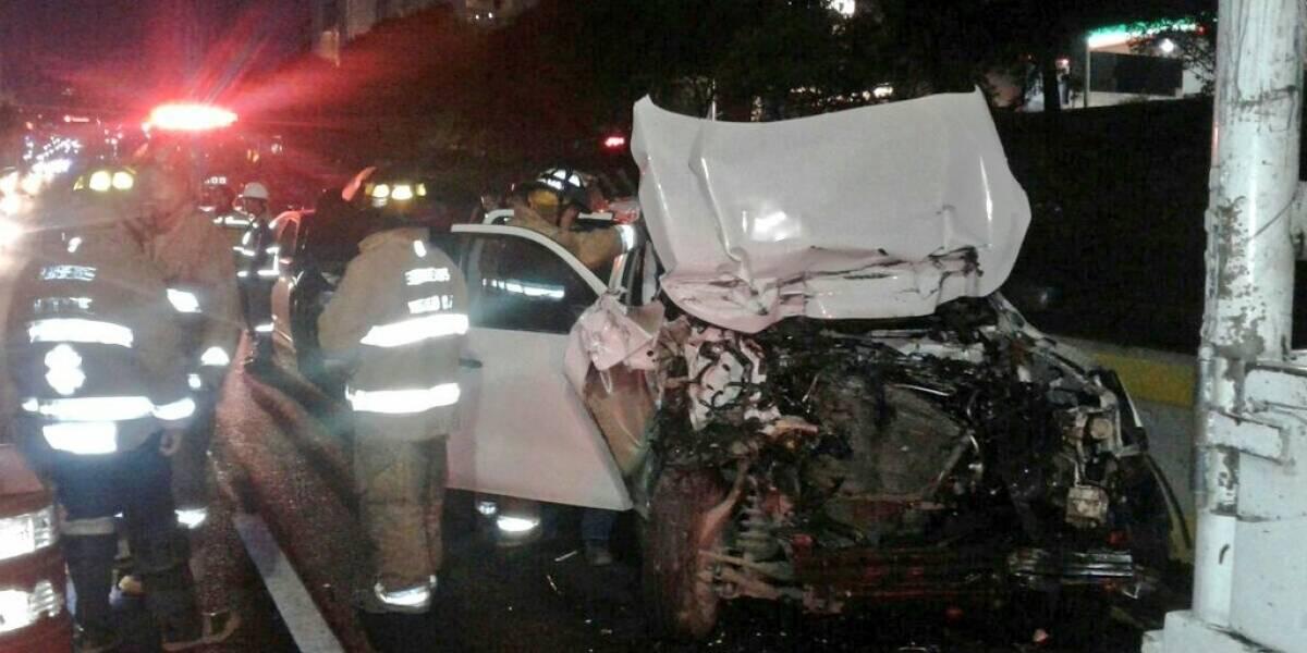 Cierran carretera México-Toluca por accidente vial