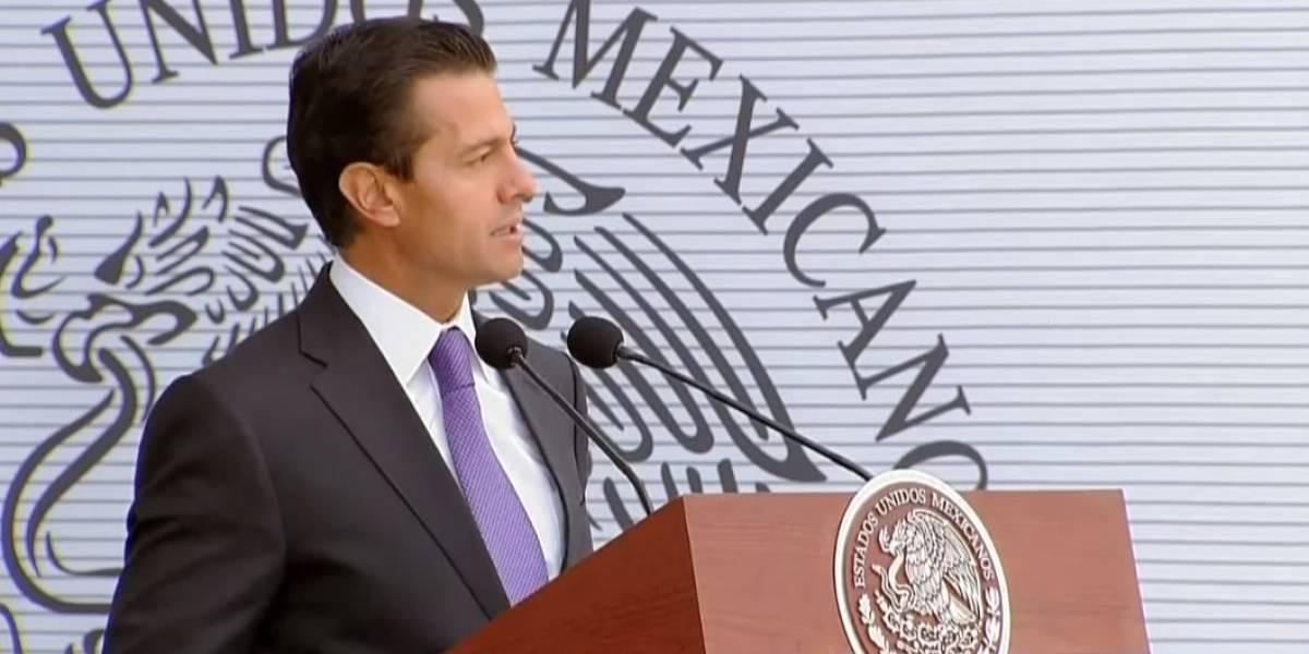 Llama Peña Nieto a trabajar en Ley de Seguridad Interior