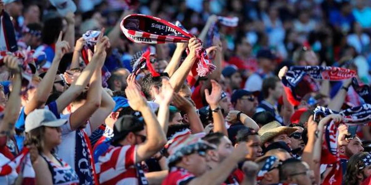 Grito de 'eh pu…' se hizo presente en la final de la Copa Oro